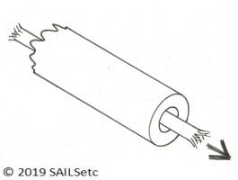 Sheet tube - plastic
