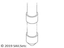 Swing rig bearings - 8 mm