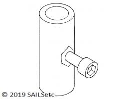 Mast ram insert - M3 or M4