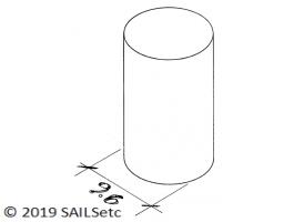 Corrector weight - 11 mm - inside