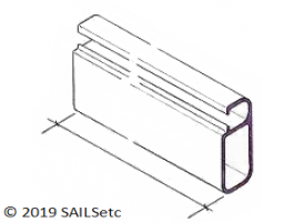 Alloy boom spar - SAILSetc section