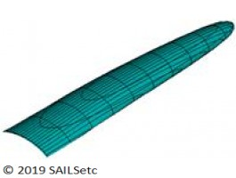Ballast - delta planform - 10-18 kg
