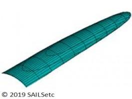 Ballast - delta planform - 9-11 kg