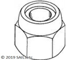 Self locking nut - M3 - 20/pack