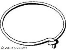 Luff ring - light weight