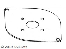 Mounting plate - for RMG 280