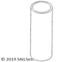 Alloy tube - 5 mm ID x 6 mm OD