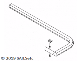 Allen Key for socket head screw