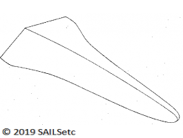 Ballast pattern - wing - for shallow draught classes