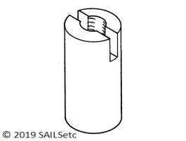 Ballast nut - M3.