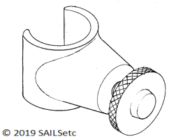 Mast ram - various Ø