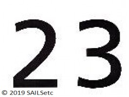 Sail numbers - mixed pack