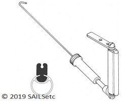 Standard g/n - alloy GROOVY mast - small classes