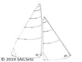 A Class lightweight sails - No 1 suit only
