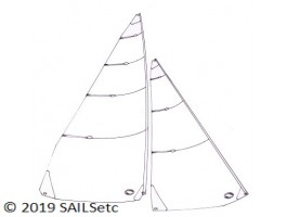 A Class panelled sails