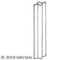 Headsail swivel tube