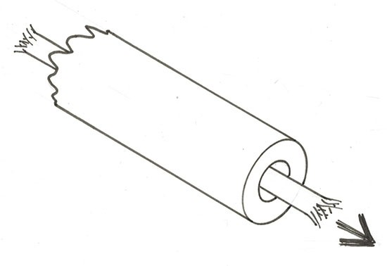 Sheet tube - plastic