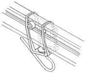 Headsail boom swivel - SAILSetc spar