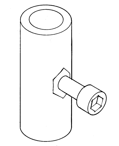 Mast ram insert - M3