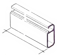 Alloy boom spar - SAILSetc section
