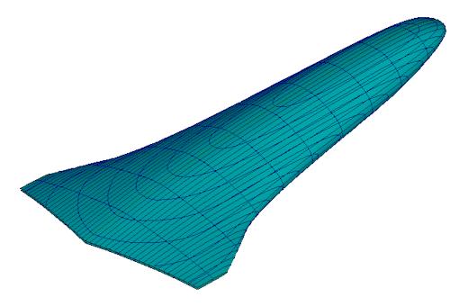 Ballast - delta planform - 6M