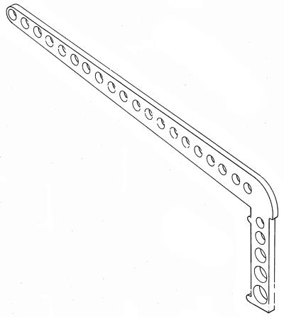 Backstay crane - 110 mm