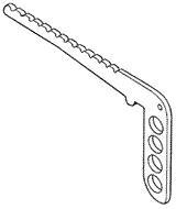 Backstay crane - for 14.5 mm GROOVY mast