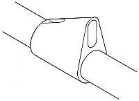 Compression strut attachment - 12 or 14 mm