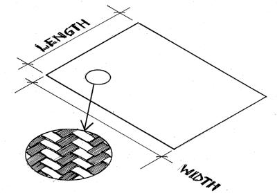 Glass cloth - 190 g/m^2