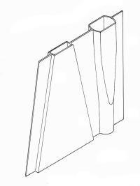 Fin box/mast tube