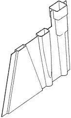 Fin box/mast tubes