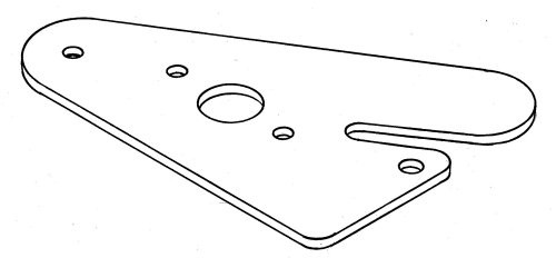 Mounting plate - for RMG 380