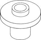 Rudder stock upper bearing - 4, 5 & 6 mm