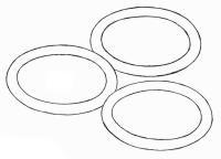 'O' rings - 2.5, 3.5, 6 & 10 mm