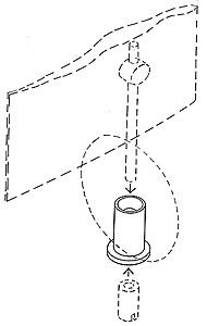 Ballast retaining nut seat