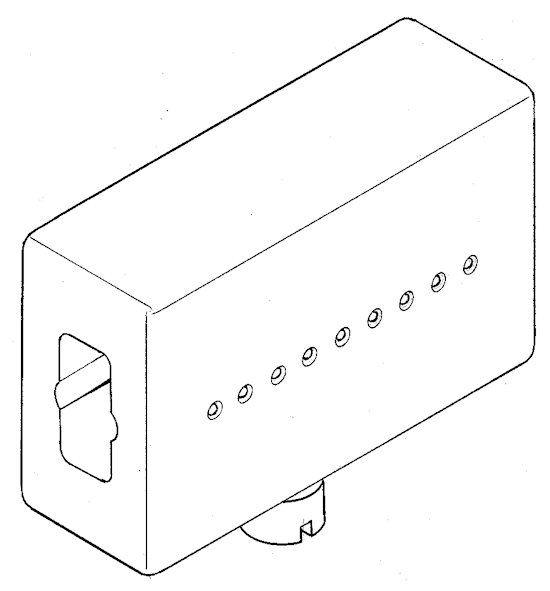 Drill guide block - for boom spars