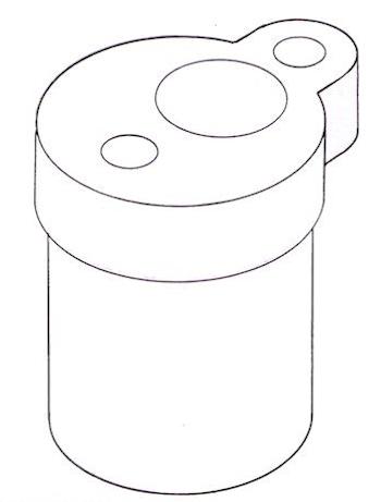 Head fitting - 11 mm Ø