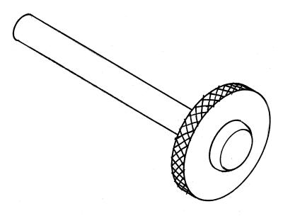 Mast ram screw