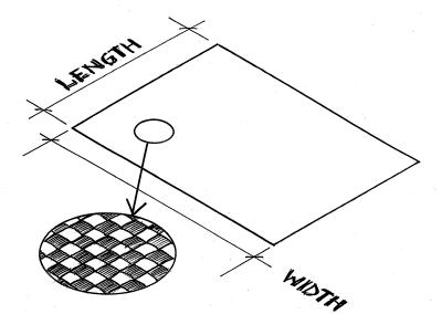 Glass cloth - 220 g/m^2
