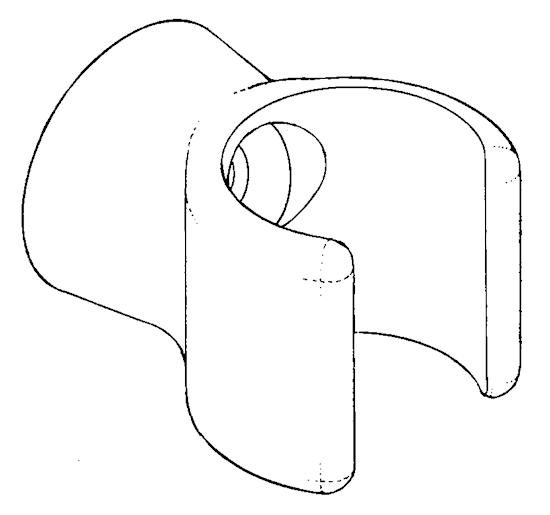 Rig box clip - mast clip