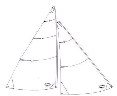 IOM No 1 sails