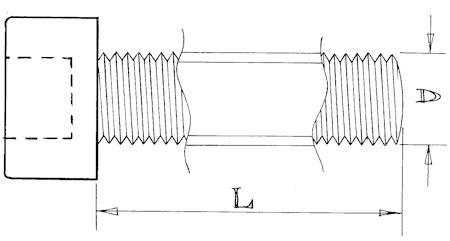 Socket head screws - M3 - Stainless steel