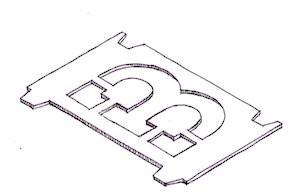 RG65/65 Class - letter stencil