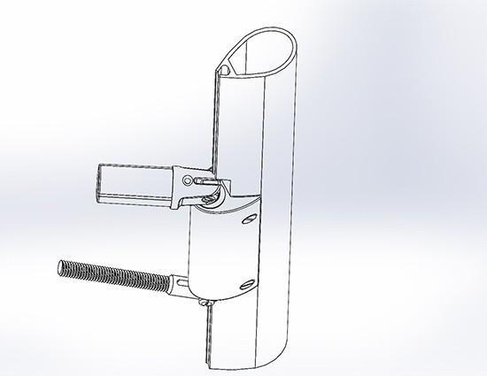Gooseneck - custom mast